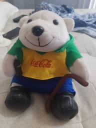 Urso de pelúcia Coca cola