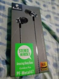 Stereo Headset Fone