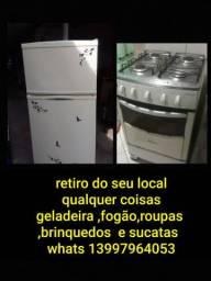 geladeiras ,fogao e sucatas