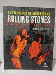 Uma temporada no inferno com os Rolling Stones Exile on Main St - livro
