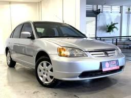 Honda Civic Sedan LX 1.7 - 2002 (Revisado com garantia)