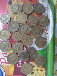 Kit com 163 moedas