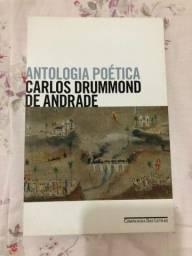 Livro Antologia Poética (Carlos Drummond de Andrade)