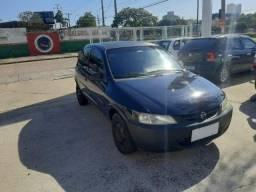 Chevrolet Celta Life 1.0  2005 Azul com Ar Condicionado
