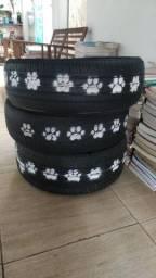 Cama pet de pneu