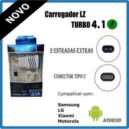 Carregador Turbo Ultra rápido 4.1