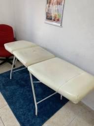 Kit Maca + Gaveteiro com chave + Cadeira para spa, massagem