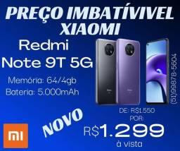 Redmi Note 9T 5G 64/4gb novo
