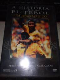 Dvd A história do Futebol - Brasil