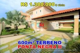 Ponta Negra 2, Casa Espetacular, 4 quartos/suíte, 600m² Terreno