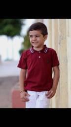 Título do anúncio: Camisa polo infantil Atacado