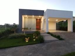 Exclusiva casa moderna 3 quartos em condomínio fechado com lazer completo