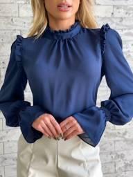 lindas blusas de finos acabamento da marca chic mariah