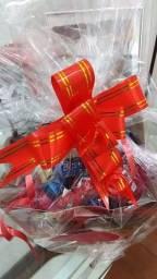 Promoção dia das mães, cestas de chocolate