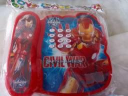 Brinquedo Telefoninho Homem de Ferro