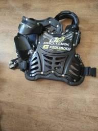 Vendo colete motocross infantil protork