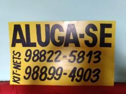 ALUGA-SE 2 KITSNETS LOCALIZADAS NO BAIRRO IANETAMA NA RUA DA DROGARIA DUARTE.