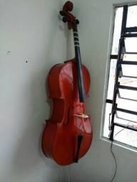 Violoncelo 4/4 parrot URGENTE !!! estado de Novo C/capa !!!