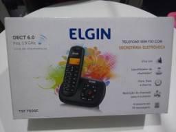 Telefone sem fio Elgin com secretária eletrônica e viva voz TSF 700se