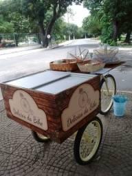 Bicicleta de lanches