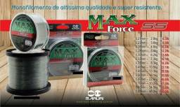 Linha Monofilamento Maruri Max Force Ss 100m-0.40mm