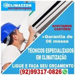 Técnicos especializados em (Climatização e Refrigeração)