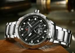 Relógio Naviforce Original em aço