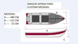 Barco aluminio 4,8 metros - 2010