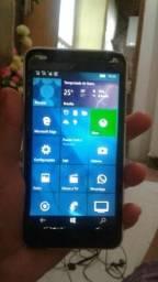 Nokia lumia 630 trincado com película mas funfionando