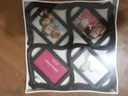 Quadro para 4 Fotos Lacrado na caixa (NOVO)
