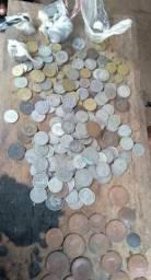 Vendo lote de moedas antigas rés do brasil da colobia e do imperio