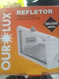 Refletor ourolux 150w e 300/500w