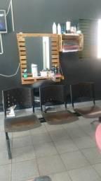 Cadeira de 3 lugar semi nova