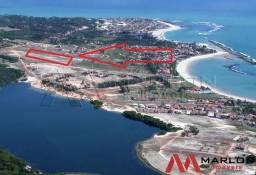 Terreno Praia de Tabatinga, com 12890m²