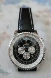 7a533974148 Relógio Breitling 1884 (Pulseira em couro sintético)