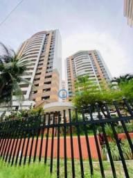 Apartamento com 3 dormitórios à venda, 151 m² por R$ 850.000 - Meireles - Fortaleza/CE