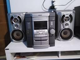 Vendo ou troco minisystem Sony original