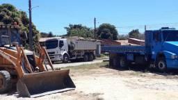 Serviços de Retroescavadeira, Caçamba e Caminhão