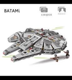 Blocos de montar tipo Lego Millenium Falcón