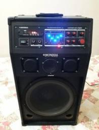 Caixa De Som Amplificada Mondial Electronic 200w