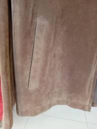 Casaco de couro - masculino