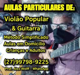 (27)99798.9225 Zap Aulas Violão/Guitarra em Domicílio Crianças Vitória es