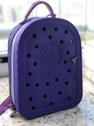 Mini mochila/ lancheira da crocs