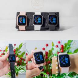 Relógio inteligente D20 y68 mede pressão sanguínea conta passos