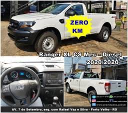 Ranger XL Diesel 4x4 - Cabine simples - 0km