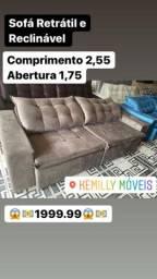 Vários sofá novos retrátil e reclinável luxos