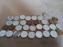 Moedas de 1 centavo colecionável
