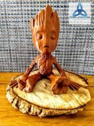 Baby Groot impressão 3D