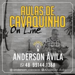 Aulas de Cavaquinho On Line