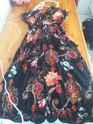 Vestido +body de renda +short